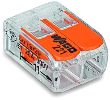 WAGO Verbindungsklemme 221-412 (100 Stück)