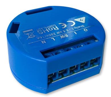 Shelly · 1 Wi-Fi WLAN Schaltaktor für 16A