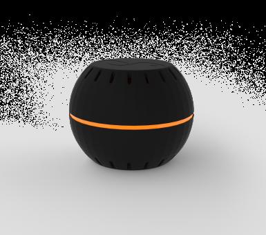 Shelly · H&T · Black · WiFi Temperatur & Feuchtigkeits Sensor