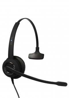 Plusonic USB Headset 10.1P, monaural, compatible to Teams and Skype